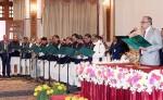 New cabinet members take oath