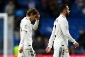 Madrid slip 10 points behind Barcelona after shock defeat by Real Sociedad