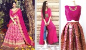 Mesmerising Fashion In  Magenta