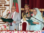 Sheikh Hasina takes oath as Prime Minister for 3rd consecutive term