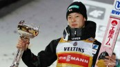 Kobayashi becomes first Japanese man to win Four Hills Grand Slam