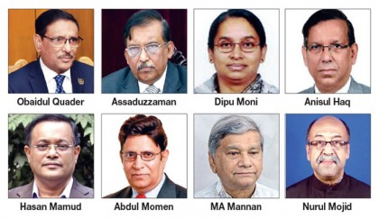 New faces dominate new cabinet