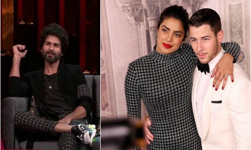 Koffee With Karan 6: Shahid Kapoor has advice for Priyanka Chopra's husband Nick Jonas