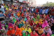 Garment workers continue protests for third day