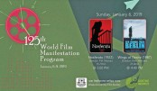 125th WFMP on 'Fantasy Films' underway