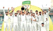Dominant India win first-ever Test series in Australia