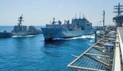 US warship sails near S China Sea islands
