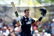 Tons for Taylor, Nicholls punish Sri Lanka in 3rd ODI