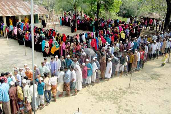 11th National Election: Voting underway in 3 Brahmanbaria suspended centres