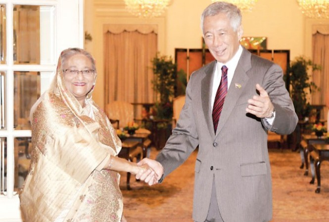 Singapore PM wants to deepen coop with Bangladesh