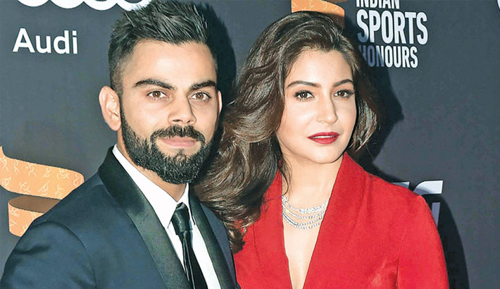 So proud of you my love, Anushka says to Kohli
