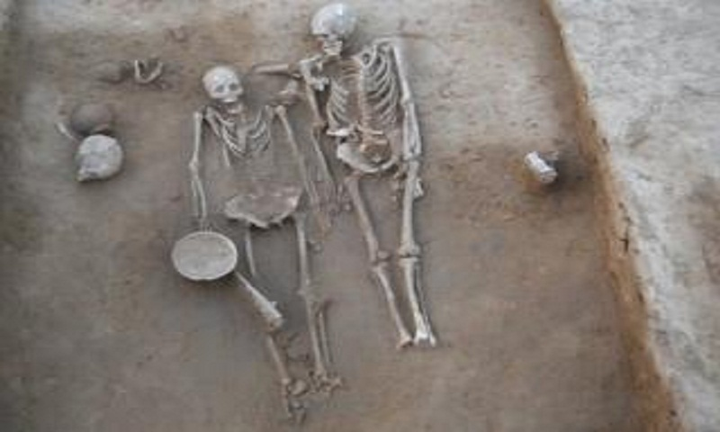 Harappa grave of ancient 'couple' revels secrets