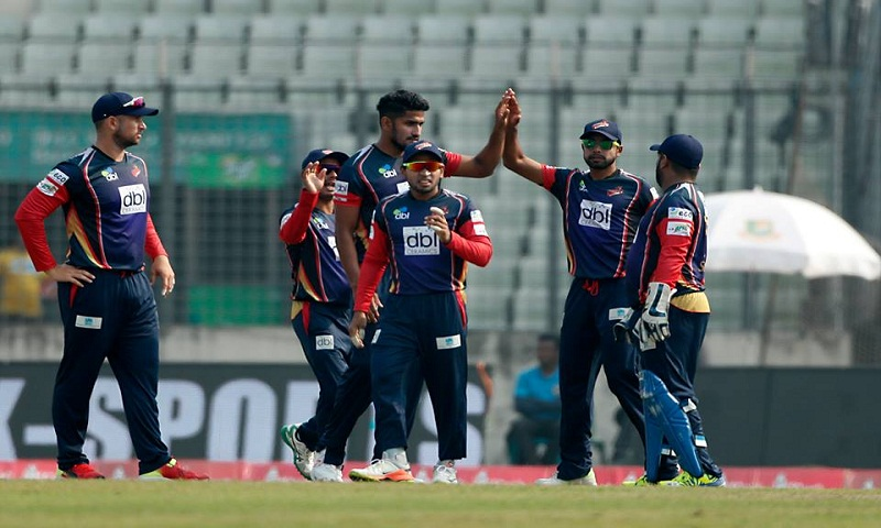 Chittagong Vikings score 94/5 against Sylhet Sixers