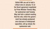 'No Brexit delay'