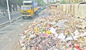 Garbage on open space causes sufferings