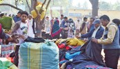 Sale of warm clothes  rises in Joypurhat