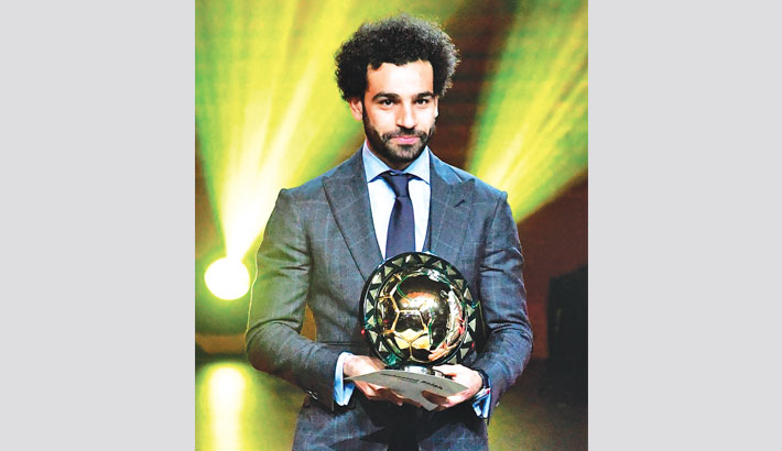 Salah retains African award to seal great day for Egypt
