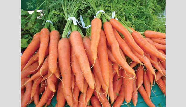 Naogaon farmers happy with carrot  yield, prices
