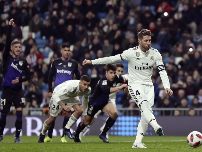 Real Madrid averts upset, beats Leganes 3-0 in Copa del Rey