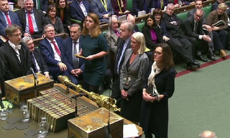 Brexit: Second Commons defeat for Theresa May in 24 hours