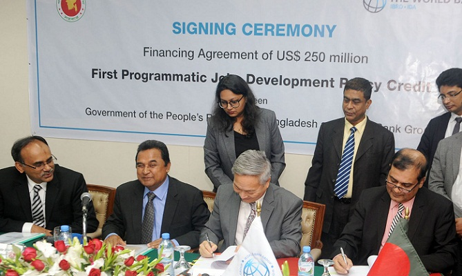 Govt signs $250 million deal with WB to create inclusive jobs