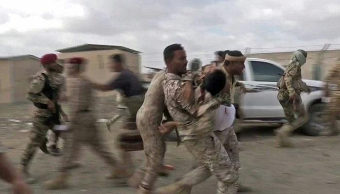 Rebel drone kills 6 loyalists at biggest Yemen airbase