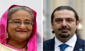 Lebanese PM greets Sheikh Hasina