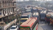20-km tailback on Dhaka-Chattogram highway