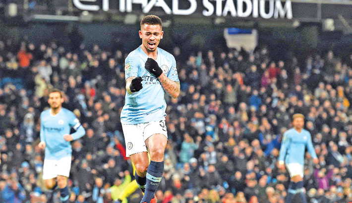 Man City set record with 9-0 thrashing of Burton