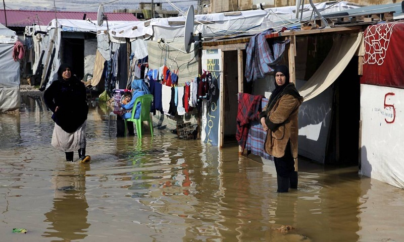 Heavy storm devastates Syrian refugee camps in Lebanon