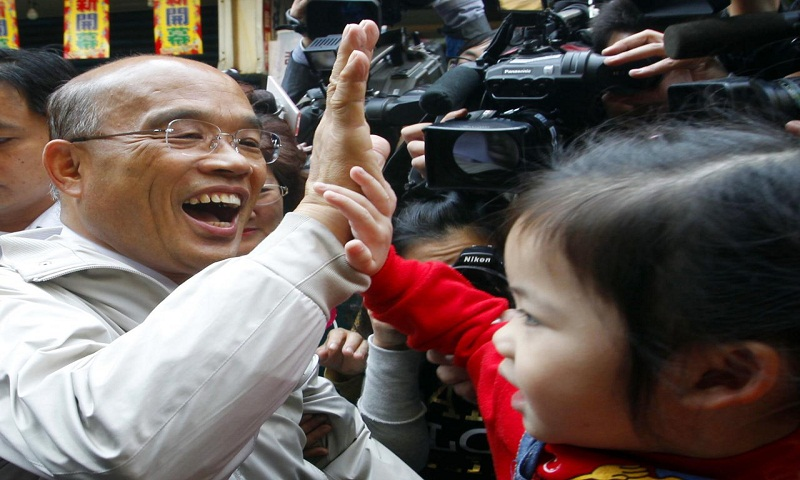 Taiwan leader appoints new premier following election loss