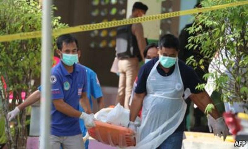 Gunmen kill 4 volunteers guarding southern Thailand school