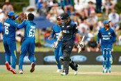 New Zealand 179 for seven in T20 against Sri Lanka