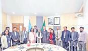 EU delegation meets UGC chairman
