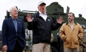 Trump visits border amid US shutdown wall row