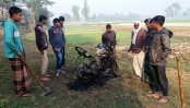 Swechchhasebak Dal leader's bike torched in Joypurhat