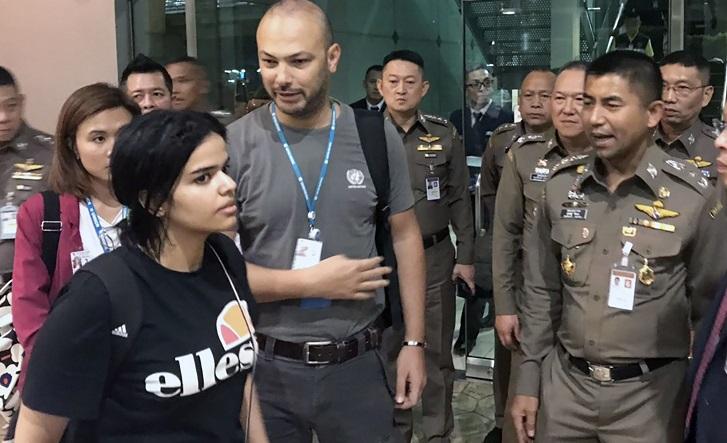 Saudi asylum seeker in Thailand pulls Twitter account over 'threats'