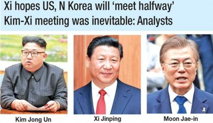 Kim should take 'bold' steps towards denuke: Moon