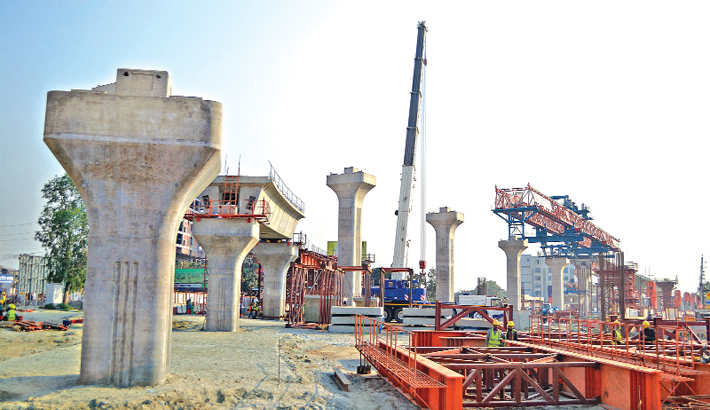 Metro rail project is progressing fast