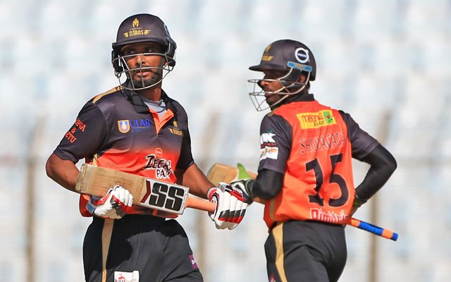 Khulna Titans set 152 runs target for Chittagong Vikings
