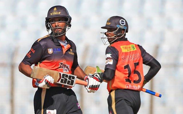 Khulna Titans set 152 runs target for Chittagong Vikings