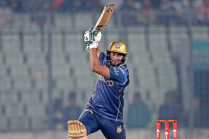 Rony's fifty helps Dhaka to post 173/7 vs Sixers
