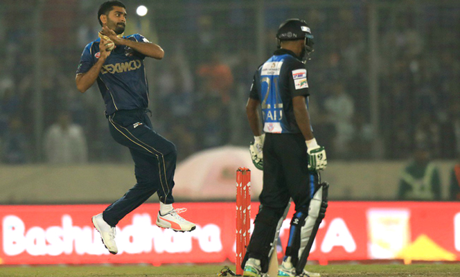 Rangpur Riders suspect Aliss' bowling action illegal