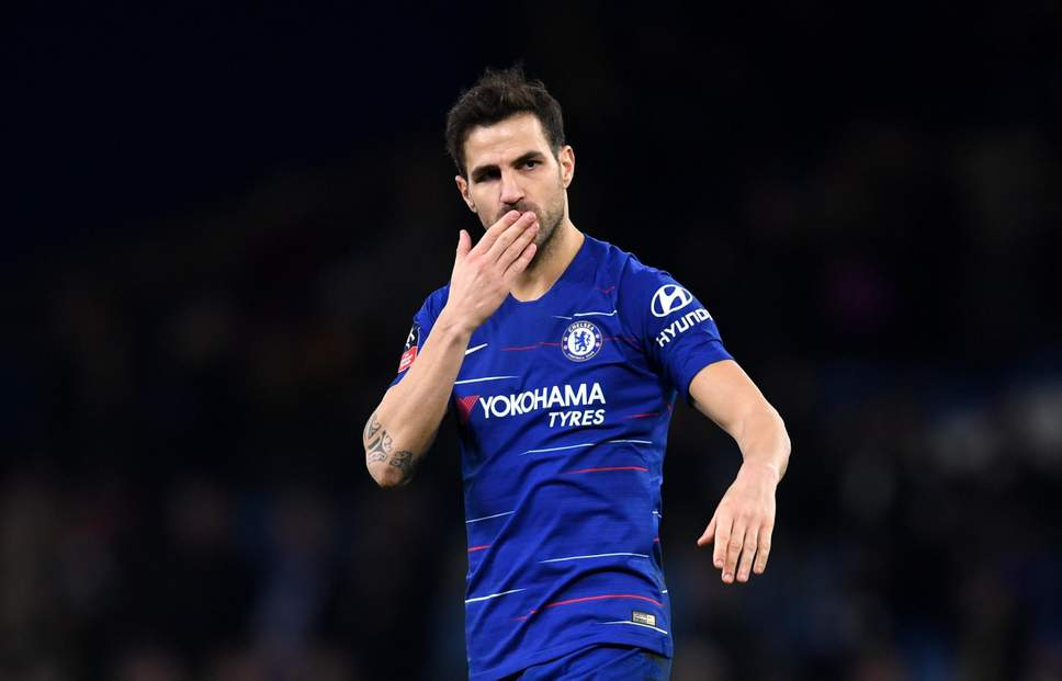 Monaco signs experienced midfielder Fabregas from Chelsea