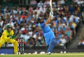Sharma fireworks thwarted as Australia beat India in 1st ODI