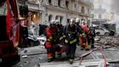 Paris 'gas explosion' shakes street in city centre