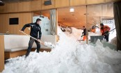 Snow brings parts of Europe to standstill