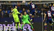 Coutinho penalty gives Barca hope despite cup defeat to Levante