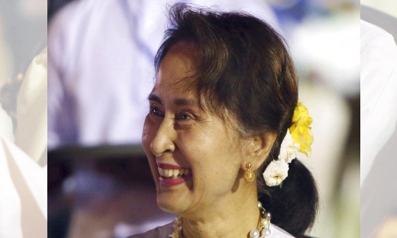 City of London moves to revoke award from Suu Kyi