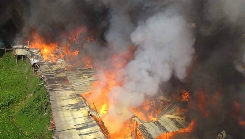 50 houses gutted in Rangamati fire